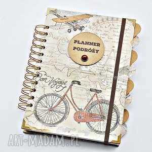 Prezent Planer Podróży, pamiętnik z podróży, personalizacja, planner, planer