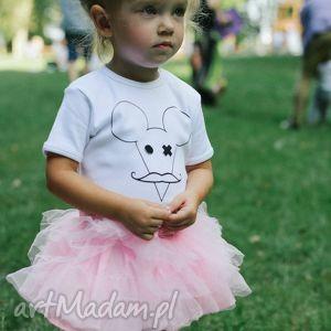 Prezent Body dla dzieci i niemowląt z krótkim rękawem - MYSZ, body, dziecko, niemowlę