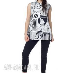 ręczne wykonanie bluzki bluzka, top anime, bawełna najwyższej jakości