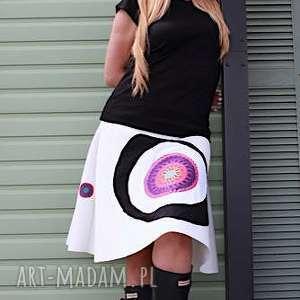 mess-spódnica niebanalna, pianka, polklosz, kolorowa, wygodna, oryginalna, letnia