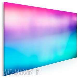 obraz na płótnie - abstrakcja kolory 120x80 cm 25102, kolory