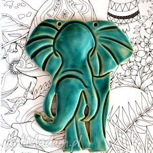 ceramika słoń ceramika, słoń, ceramiczny, dekoracje, szafirowy, błękitny