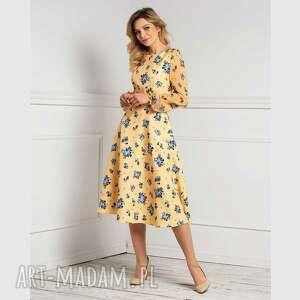 sukienki sukienka aniela total midi klementyna, midi