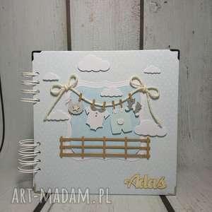 Prezent Album - Maluszkowe ubranka, dziecko, prezent, urodziny, narodziny