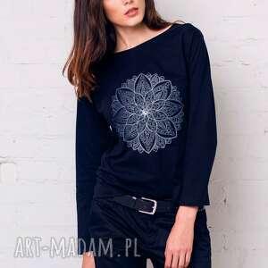 india flower bluzka oversize, bluzka, longsleeve, moda, casual, bawełna