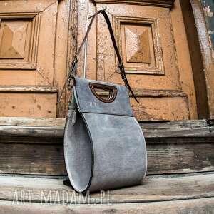 teczki torebka łezka wykonana ręcznie z naturalnej skóry wysokiej jakości