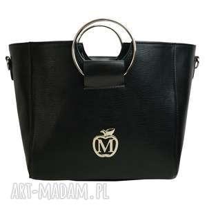 MANZANA torebka kuferek z kołem , torba, kuferek, torebka, worek, modna, duża