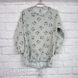 handmade ubranka sukienka dla dziewczynki oczka 86-98