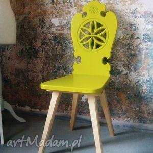 góralskie zydle folk design aneta larysa knap - góralskie, krzesło, zydle