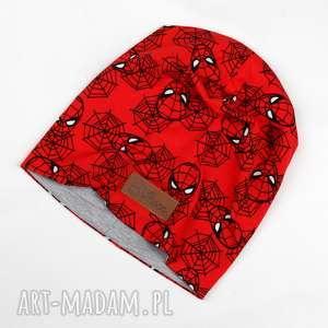 GoDeco - kolorowa ciepła czapka spiderman unisex beanie spideman, marvel, komiks
