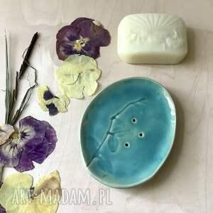 ręcznie robione ceramika ceramiczna mydelniczka robiona