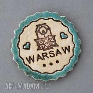ręczne wykonanie magnesy warszawa-magnes ceramika