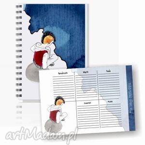 handmade notesy komplet do szkoły dla chłopca