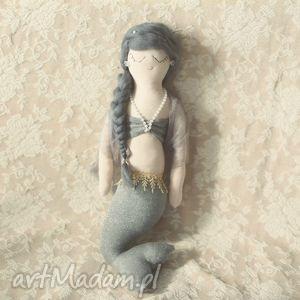 Bajka Morska - syrenka Estera, syrenka, lalka, szmacianka, unikatowa, ozdoba
