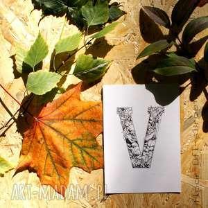 grafika wegetariańska / wegańska, wege, wegan, plakat, pocztówka, rośliny, kwiaty