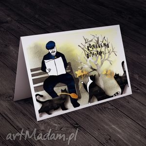 Karteczka dla Dziadka, dziadek, życzenia, imieniny, urodziny, kartka