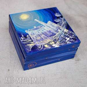 ręczne wykonanie pudełka pudełko zamek w karpnikach