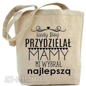 shopper torba kiedy bóg przydzielał mamy, na zakupy, dla niej, mamy
