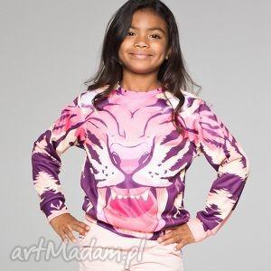 bluza dla dzieci z komiksowym tygrysem, bluza, dziecięca, mrgugu, sweater, kids