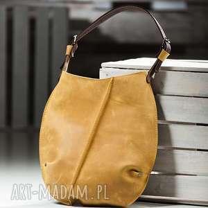 torebka dwukolorowa skórzana, torba na ramię NavahoClothing, torba-torebki,
