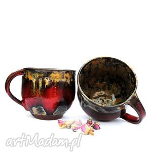 ręczne wykonanie ceramika ceramiczne kubki- para dla pary