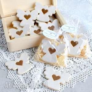 hand-made dla dziecka aniołki w podziękowaniu