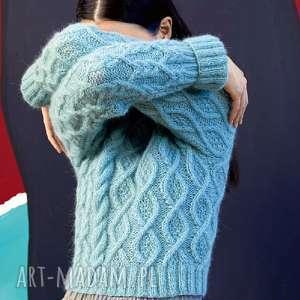 ręcznie wykonane swetry sweter nacka