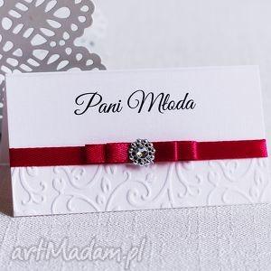 winietki na stoły weselne royal fuchsia, winietki, etykiety stoly