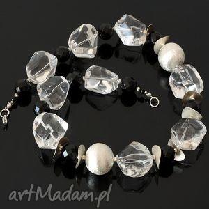 handmade naszyjniki kryształowy naszyjnik