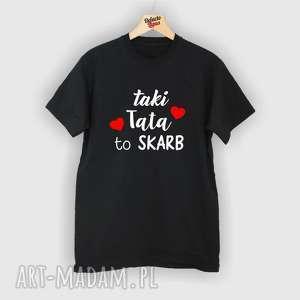 ręcznie robione koszulki koszulka z nadrukiem dla taty, tata, super najlepszy tatuś