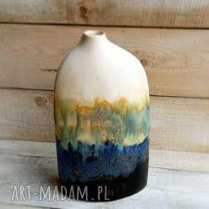 ceramiczny oryginalny wazon ręcznie wykonany walentynki
