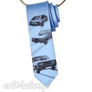 Prezent Krawat Polonez, nadruk, śledzik,