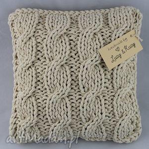 ręcznie wykonane poduszki poduszka łan zboża