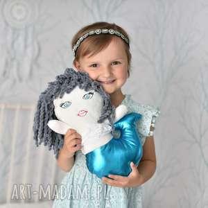Prezent Przytulanka dziecięca syrenka, lalka-syrenka, syrenka-maskotka