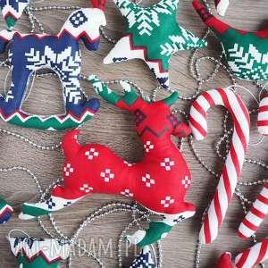 ręcznie robione pomysł na prezent zestaw ozdób świątecznych choinkę