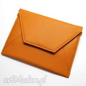 kopertówka - orange - wesele, elegancka, nowoczesna, wieczorowa, prezent