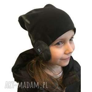 dla dziecka czapka pilotka, 2 rozmiary, czapka, czapa, dresówka