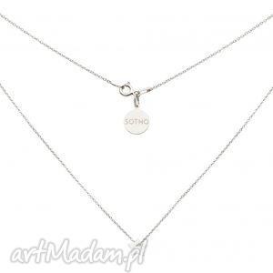 sotho srebrny naszyjnik z małą gwiazdką - łańcuszek