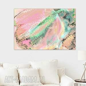 grafika cyfrowa, tulipan, 60 x 40, romantyczny minimalizm, obraz do salonu, sypialni