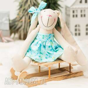 handmade pomysł na prezent królik personalizowany święta