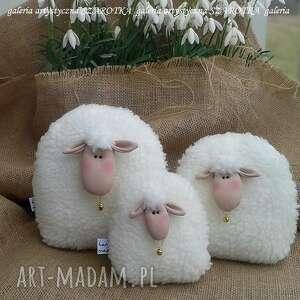 owieczka, baranek rozm l - dekoracja tekstylna, ooak, baranek, owieczka