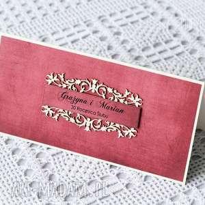 30 rocznica ślubu - kartka z ramką - kartka, ramka, rocznica, ślubu, 30