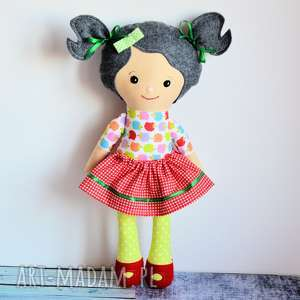 lalka rojberka - słodki łobuziak monia 50 cm, lalka, szmacianka, przytulanka