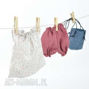 lalki pastelowa tunika bloomersy, ubranka, ubranka dla lalki, ubrankadlaszmacianki