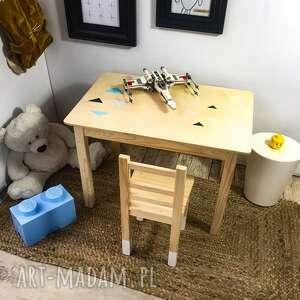 stolik biurko plus krzesełko - zestaw mebli dziecięcych, meble dziecięce