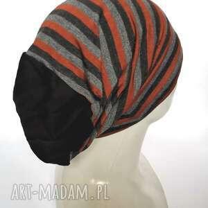 ręcznie zrobione czapki czapka damska męska codzienna box z1 polecam