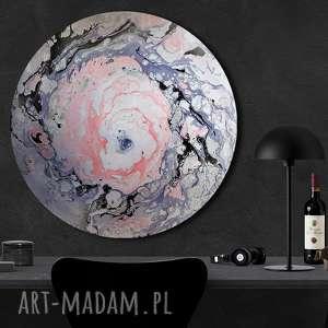 planeta 9, kosmos, okrągły obraz, ziemia, wszechświat, księżtc, natura