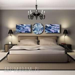 Kompozycja 1, niebo, abstrakcja, akryl, kosmos