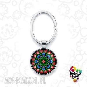 brelok do kluczy wycinanka, folk, ludowe, etniczne, grafika, kwiaty, prezent