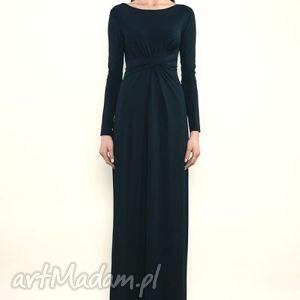 suknia cristina maxi black, suknia, wieczorowa, jersey, wyjątkowy prezent